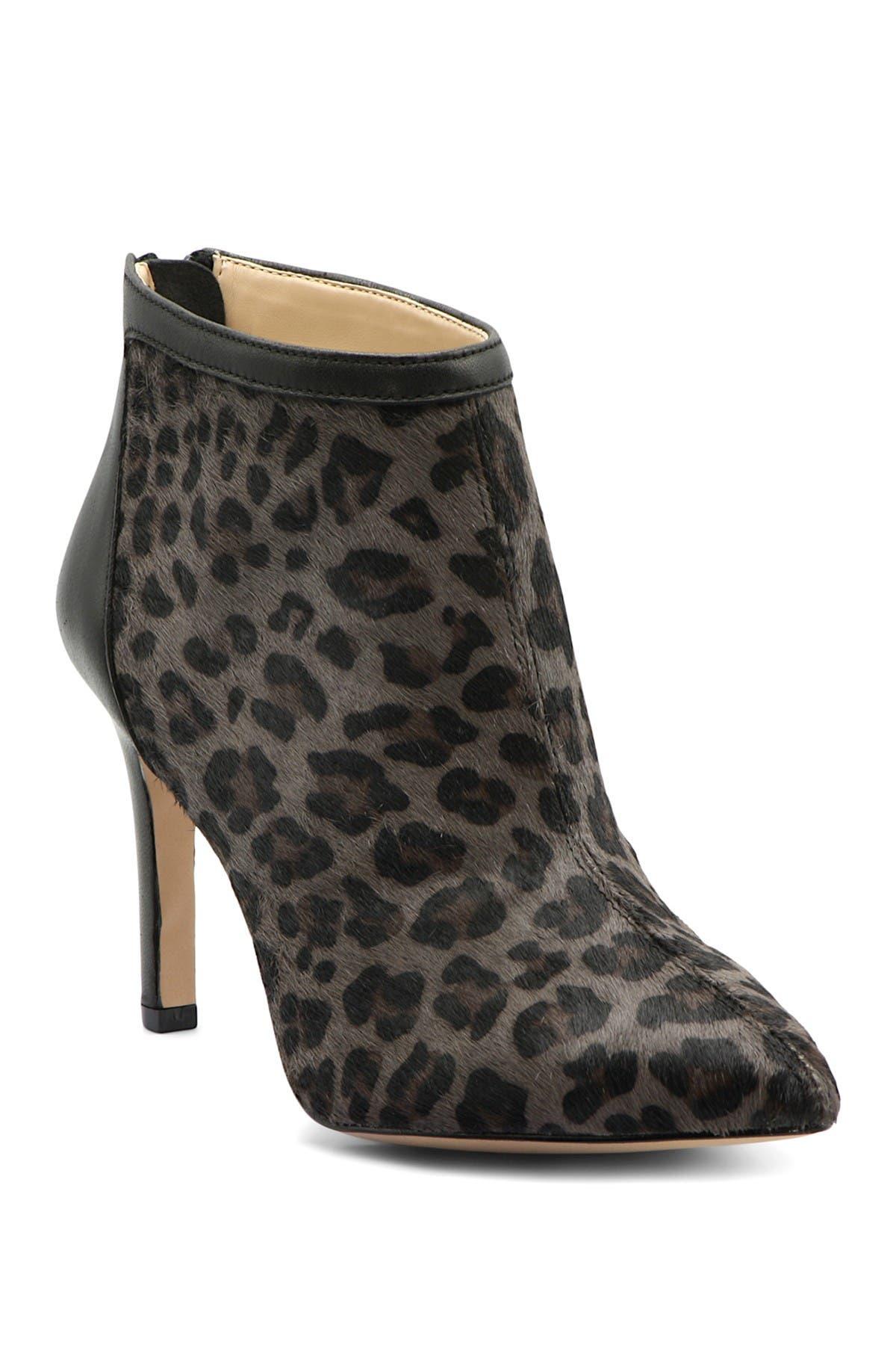 Nyla Leopard Printed Stiletto Bootie