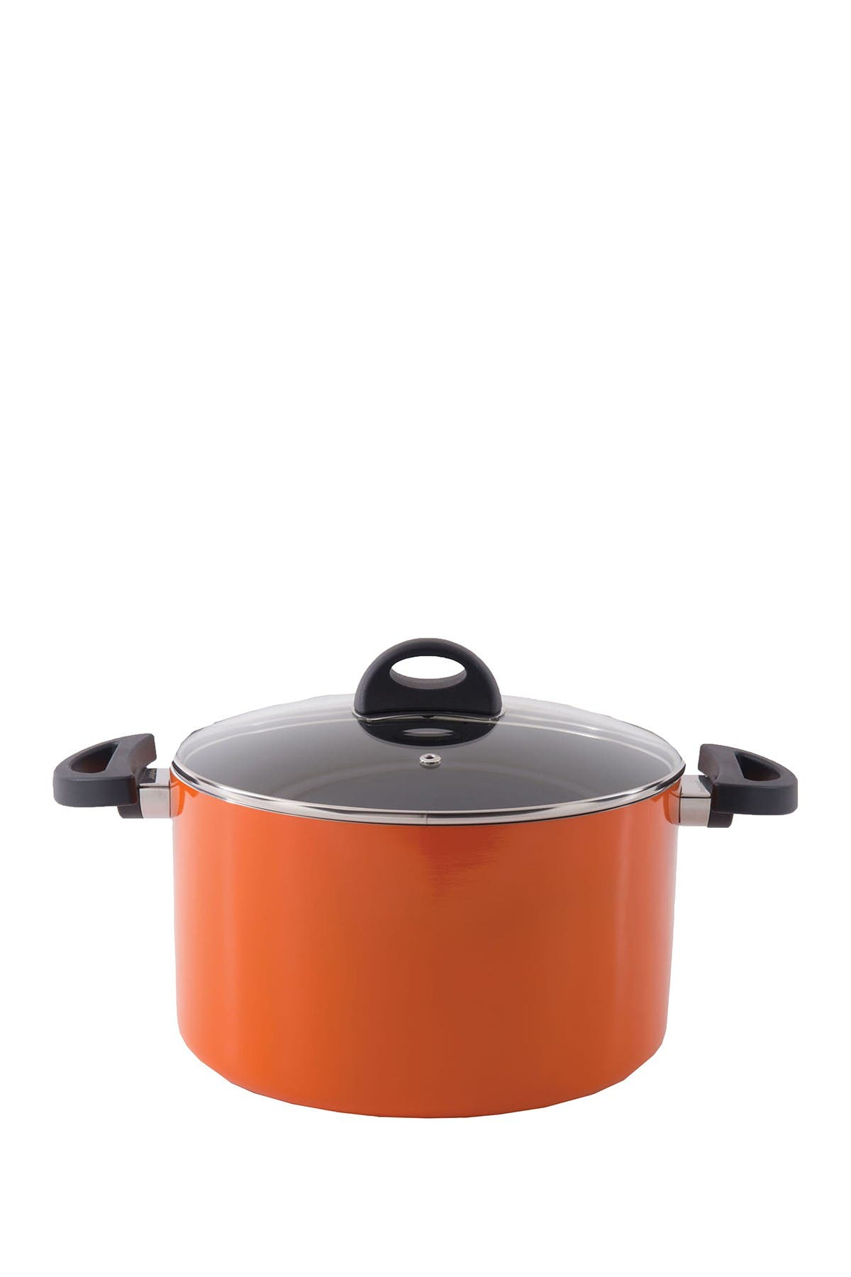 Image of BergHOFF Orange 7 qt. Aluminum Covered Stockpot