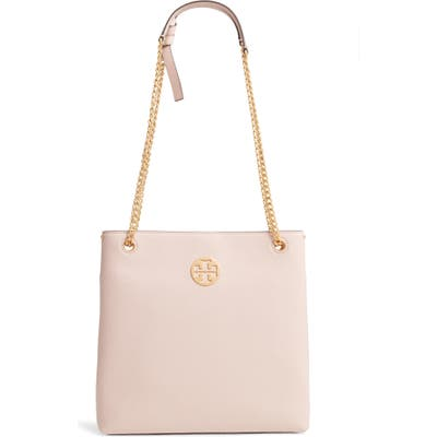 Tory Burch Everly Leather Swingpack - Pink