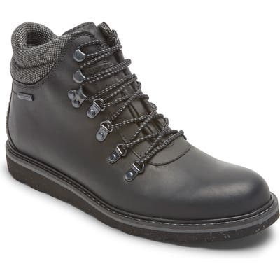 Rockport Storm Front Alpine Waterproof Plain Toe Boot- Black