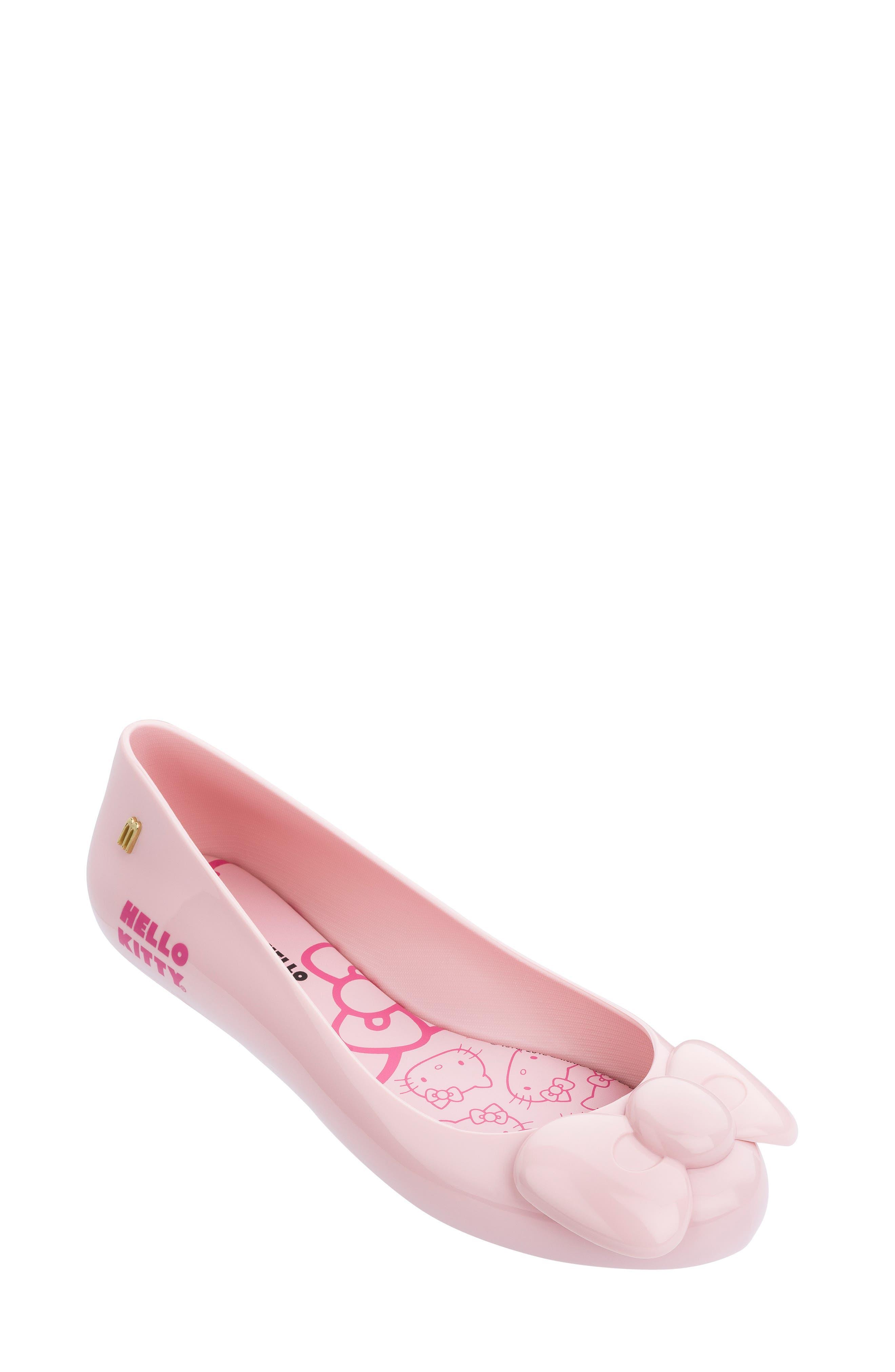 Melissa Space Love Hello Kitty Flat, Pink