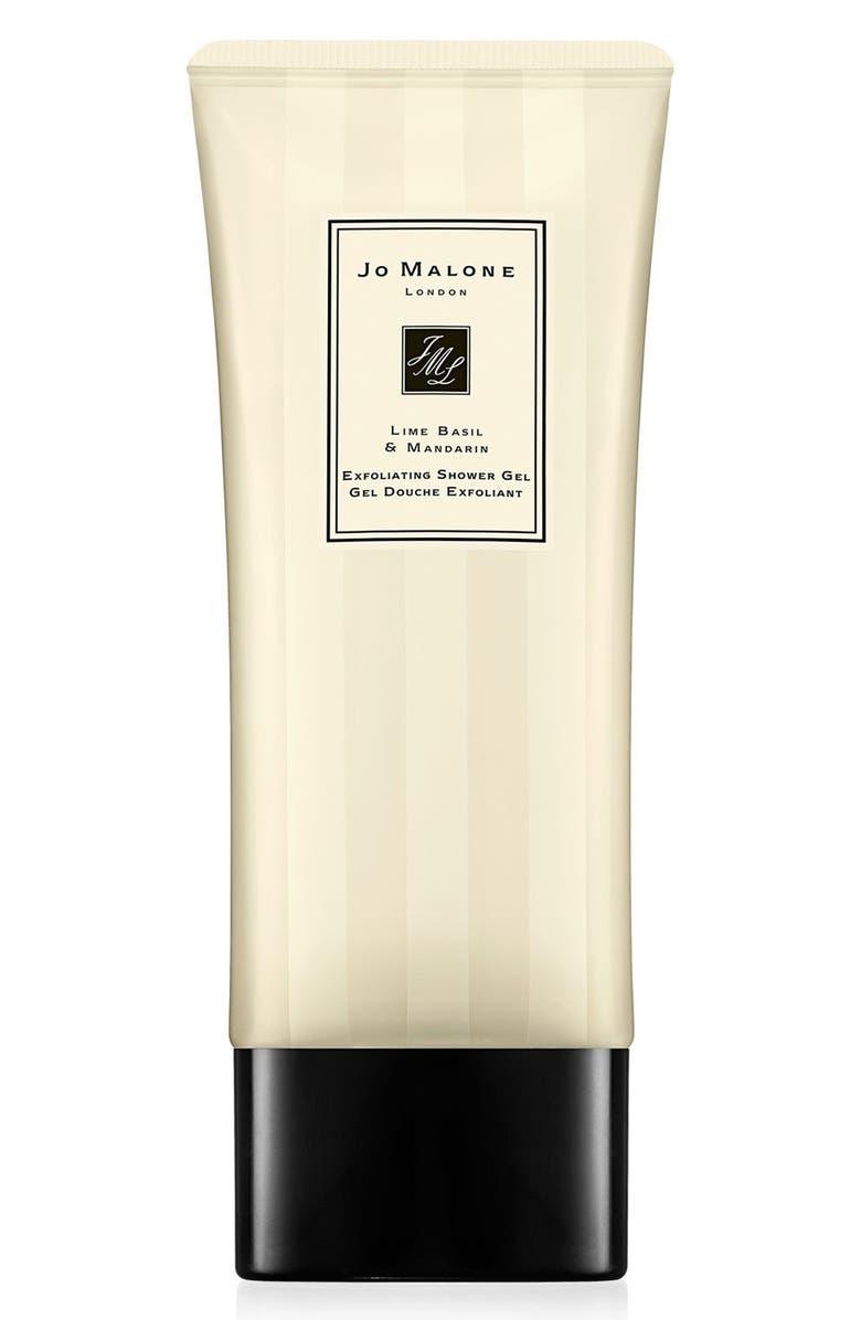 JO MALONE LONDON<SUP>™</SUP> Lime Basil & Mandarin Exfoliating Shower Gel, Main, color, NO COLOR