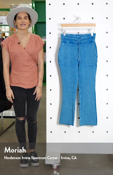 Free People FP Movement Solid Wide Leg Pants, sales video thumbnail