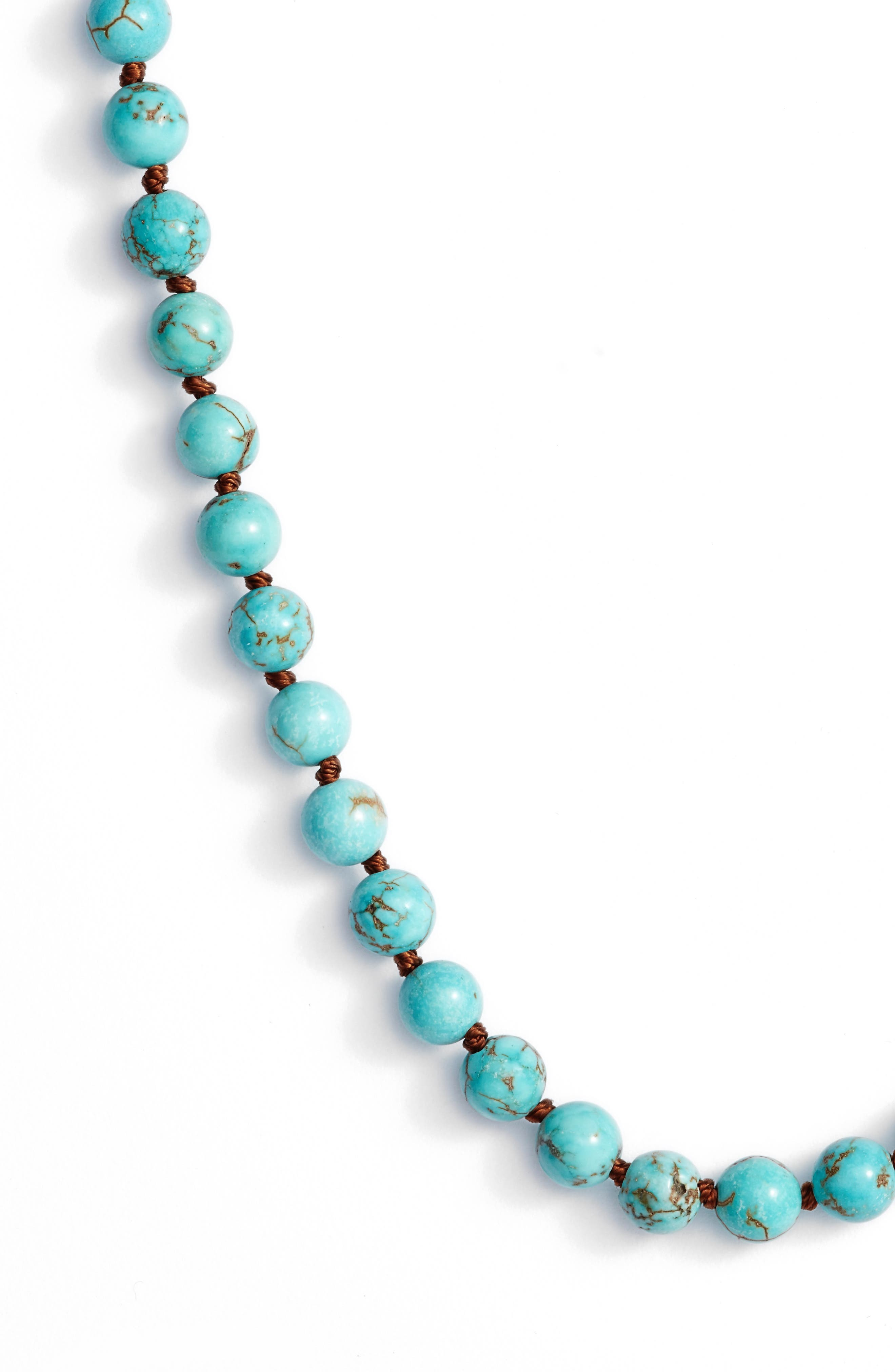 ,                             Love's Affect Knotted Semiprecious Stone Necklace,                             Alternate thumbnail 13, color,                             440
