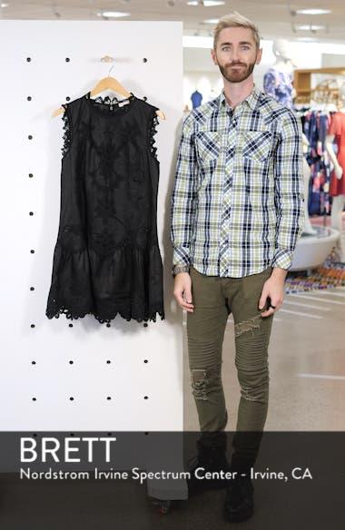 Terri Embroidered Linen Minidress, sales video thumbnail