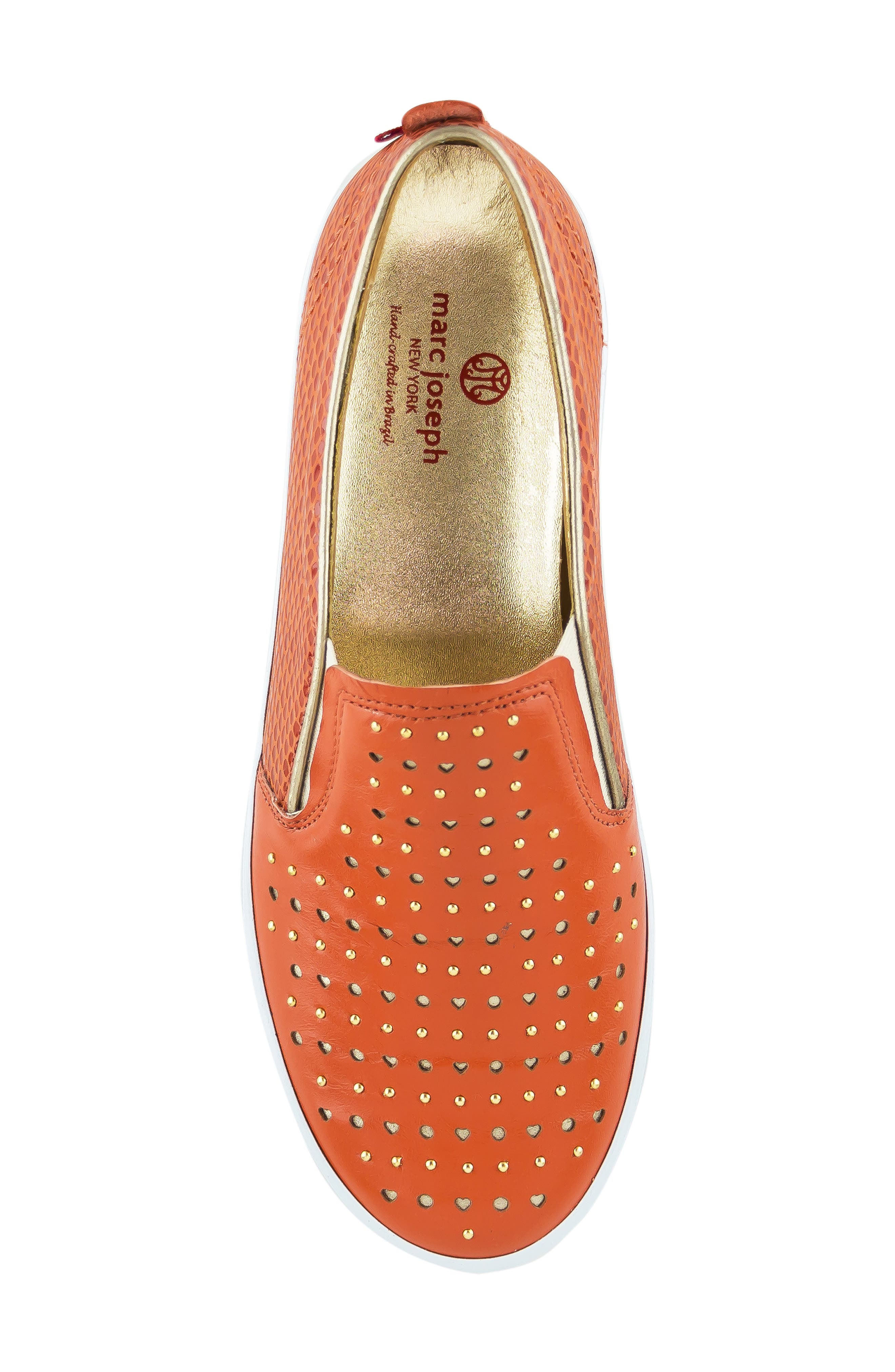 ,                             Soho Sneaker,                             Alternate thumbnail 5, color,                             CORAL LEATHER