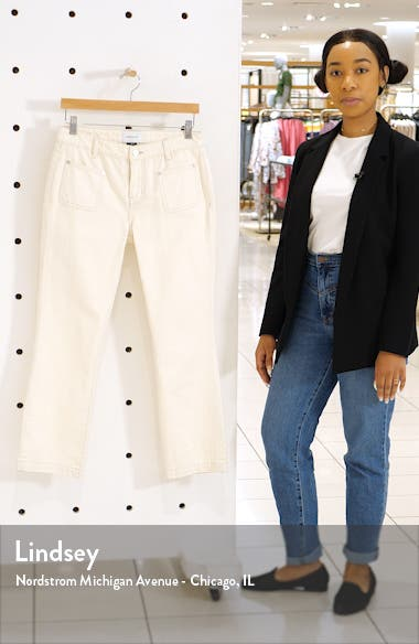 The Cropped Bootcut Jeans, sales video thumbnail