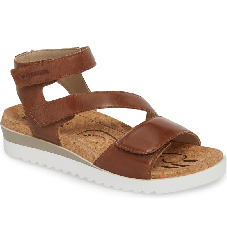 ROMIKA<SUP>®</SUP> Hollywood 04 Sandal, Main, color, CASTAGNE RED