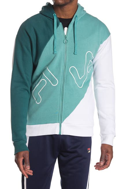 Image of FILA USA Lazaro Colorblock Zip Jacket