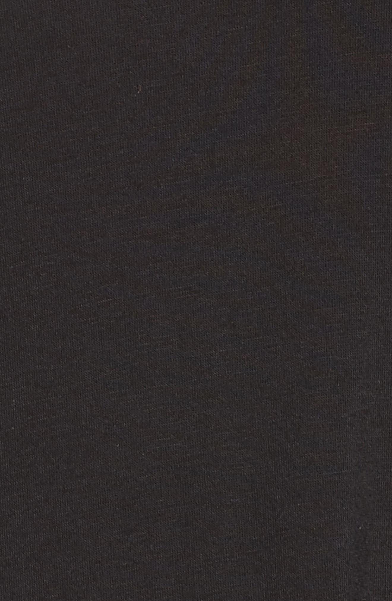 ,                             All American Sleep Shirt,                             Alternate thumbnail 5, color,                             BLACK