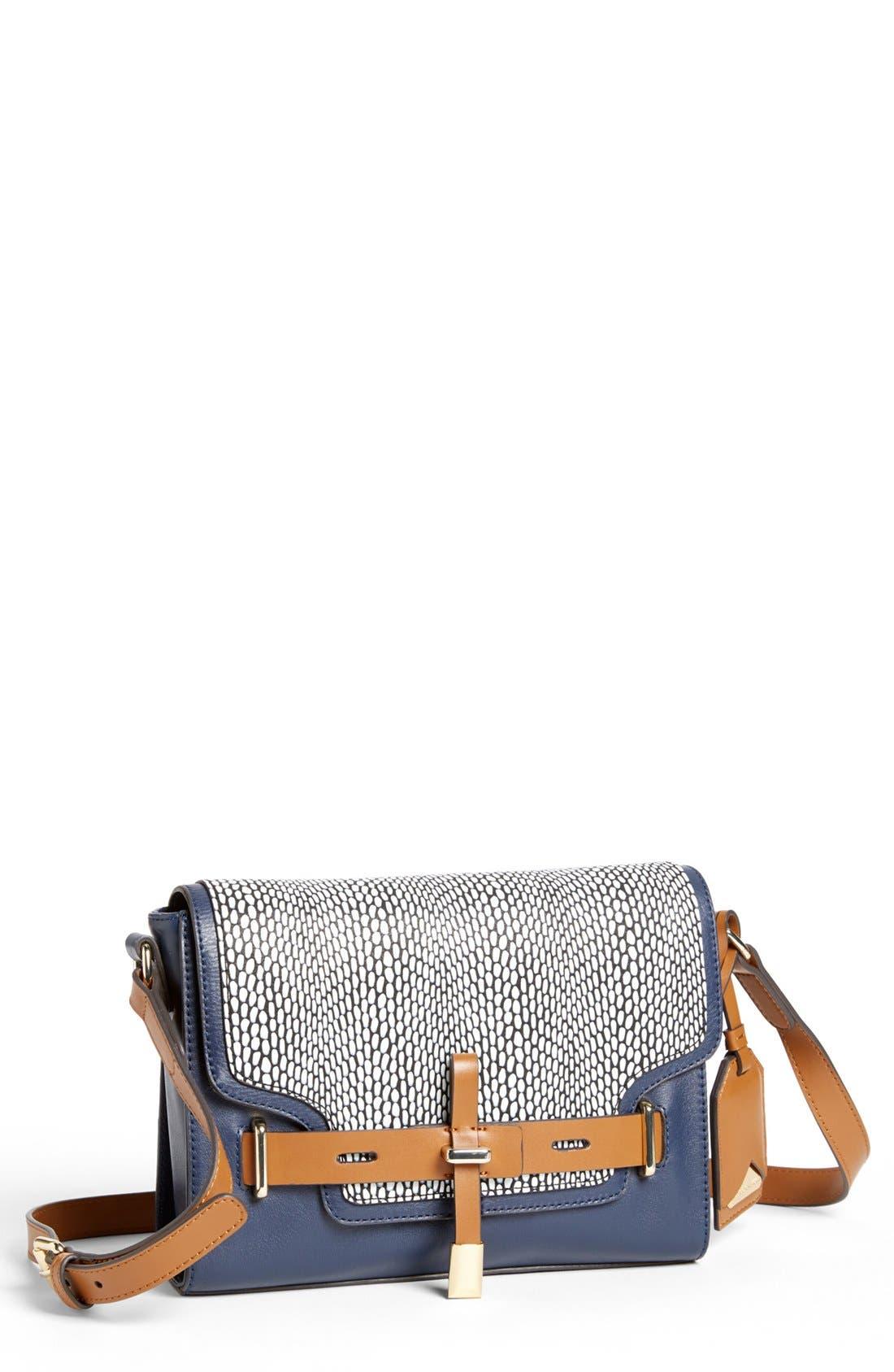 ,                             'Max' Leather Crossbody Bag,                             Main thumbnail 20, color,                             490