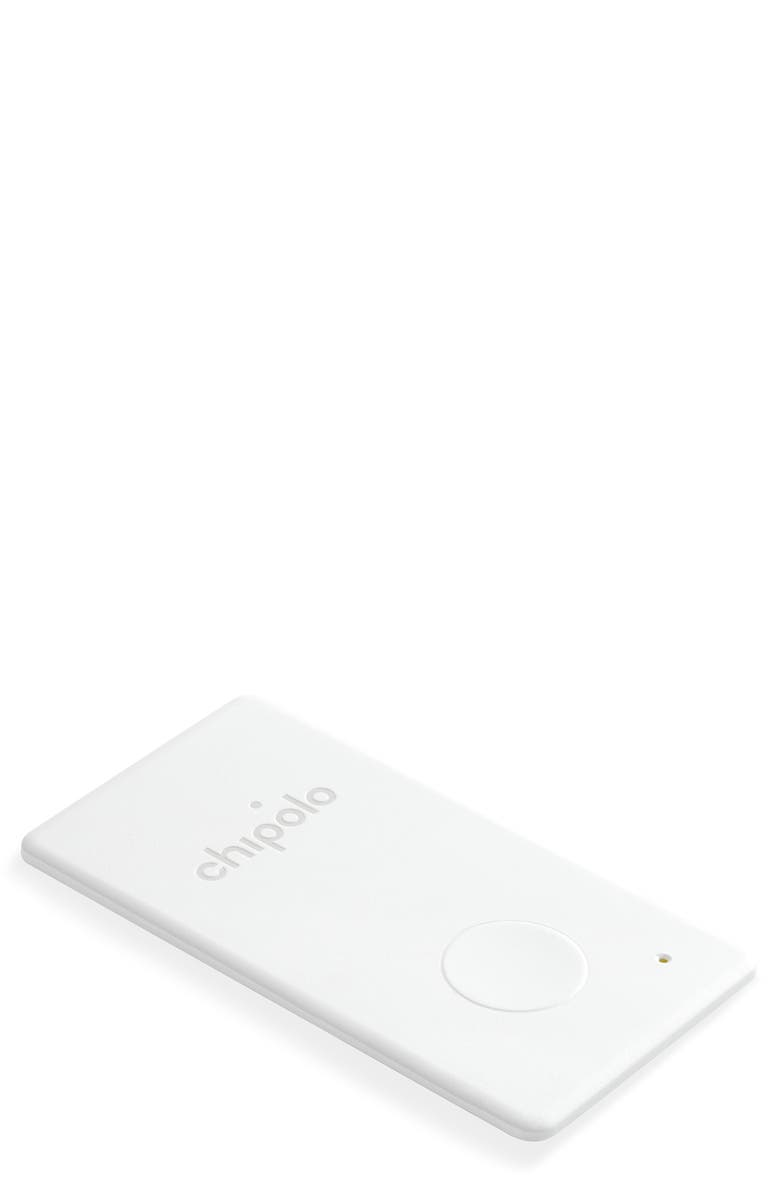 CHIPOLO Wallet Card Tracker, Main, color, WHITE