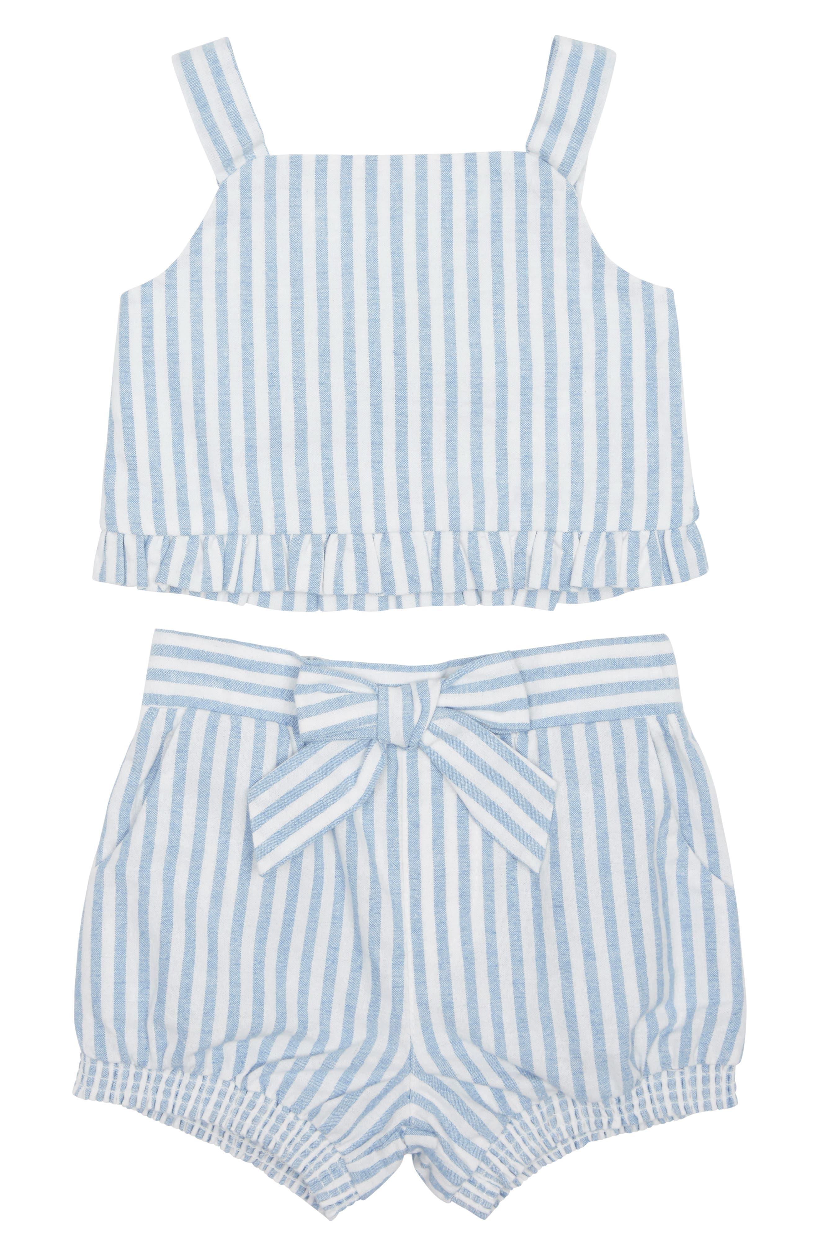 Toddler Girls Habitual Luciana Tank  Shorts Set