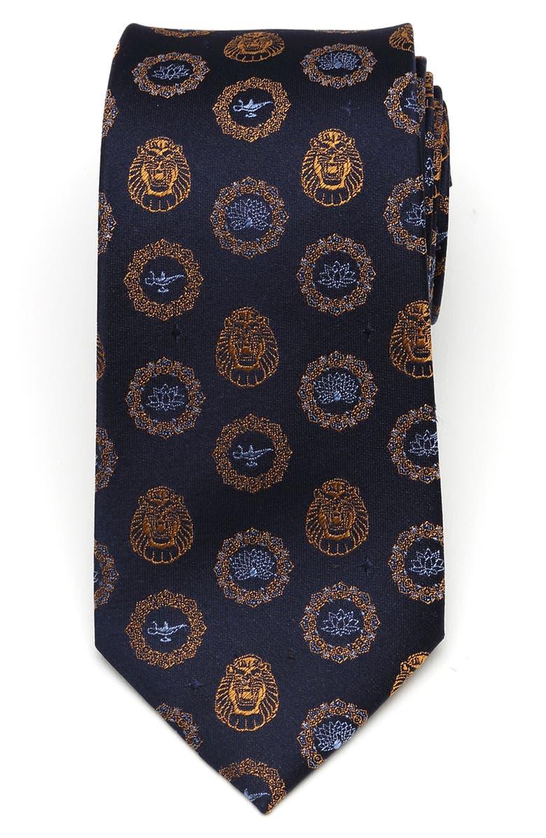 CUFFLINKS, INC. Lamp & Cave of Wonders Silk Tie, Main, color, BLUE