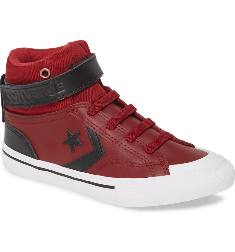 CONVERSE All Star<sup>®</sup> Pro Blaze High Top Sneaker, Main, color, BURGUNDY