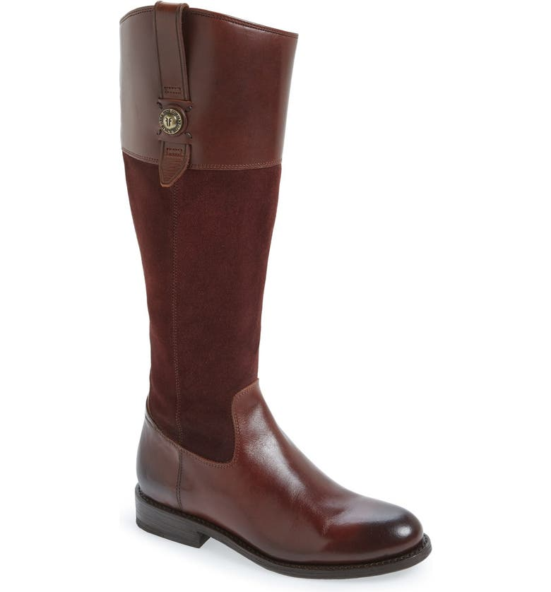 FRYE 'JaydenButton' Tall Boot, Main, color, 200