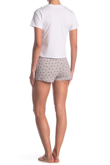 Image of COZY ROZY Daydream Rose 2-Piece Pajama Set