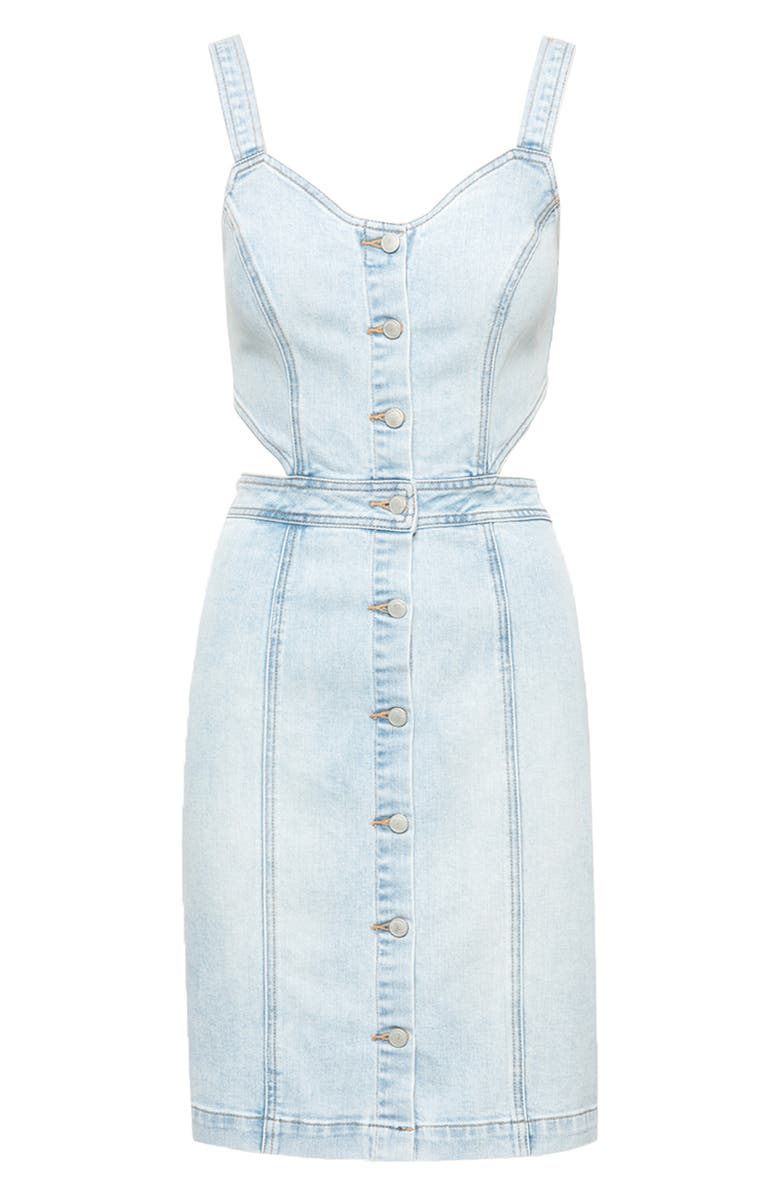 BLANKNYC Denim Minidress, Main, color, 400