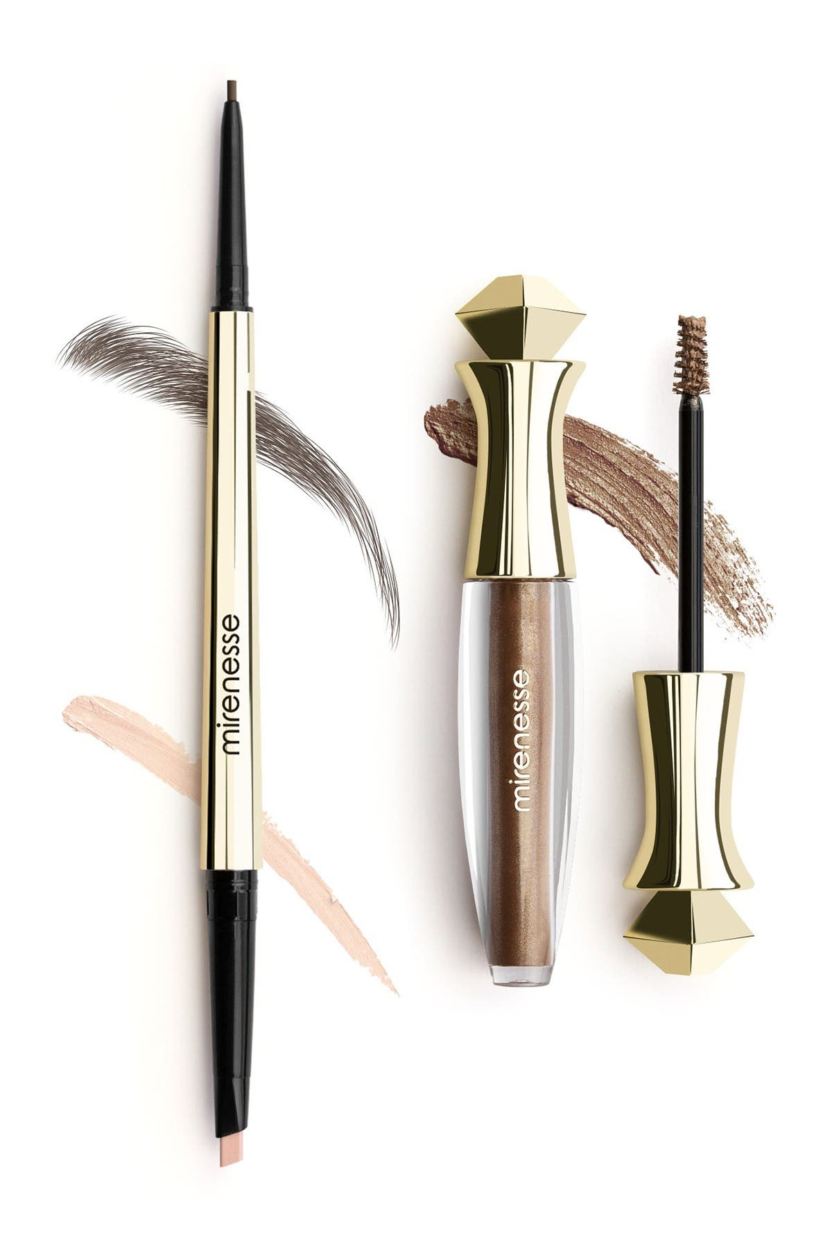 Image of Mirenesse All Day Micro Brow Pencil + Shaping Mascara Set - 3.Cappuccino