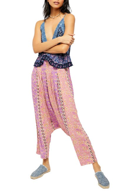 Image of Free People Haley Patterned Lounge Pants