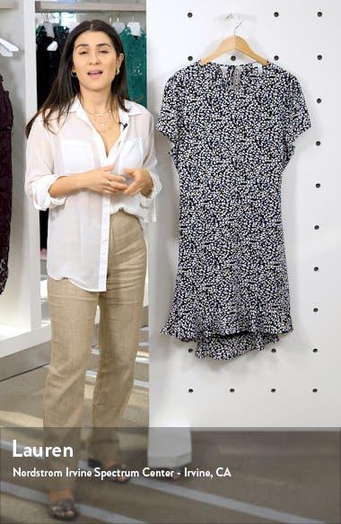 Ruffle Open Back Minidress, sales video thumbnail