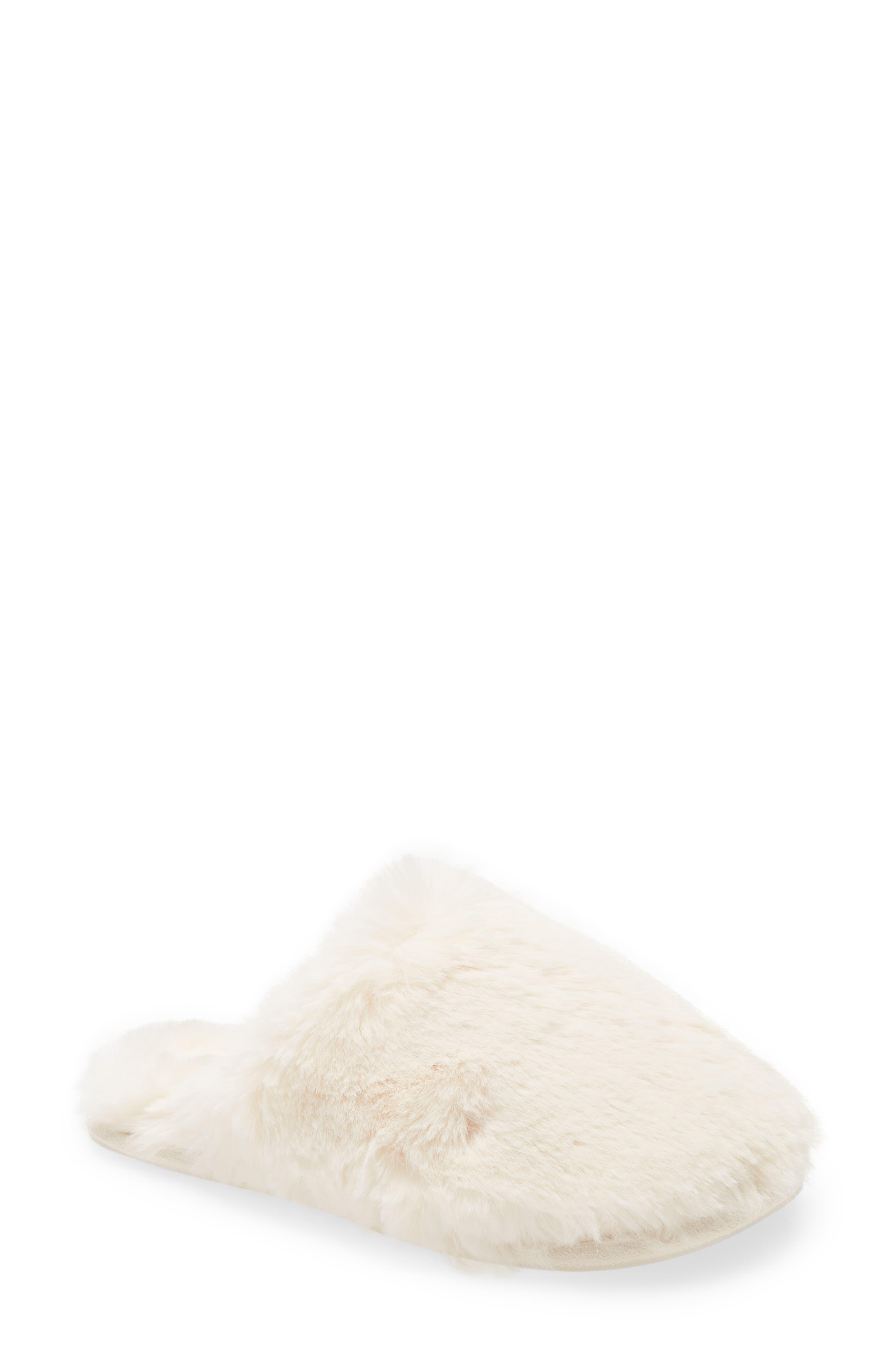 Cozy Faux Fur Slipper