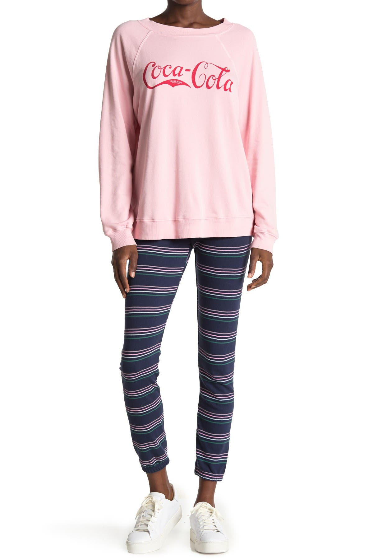 Image of WILDFOX Knox Striped Joggers
