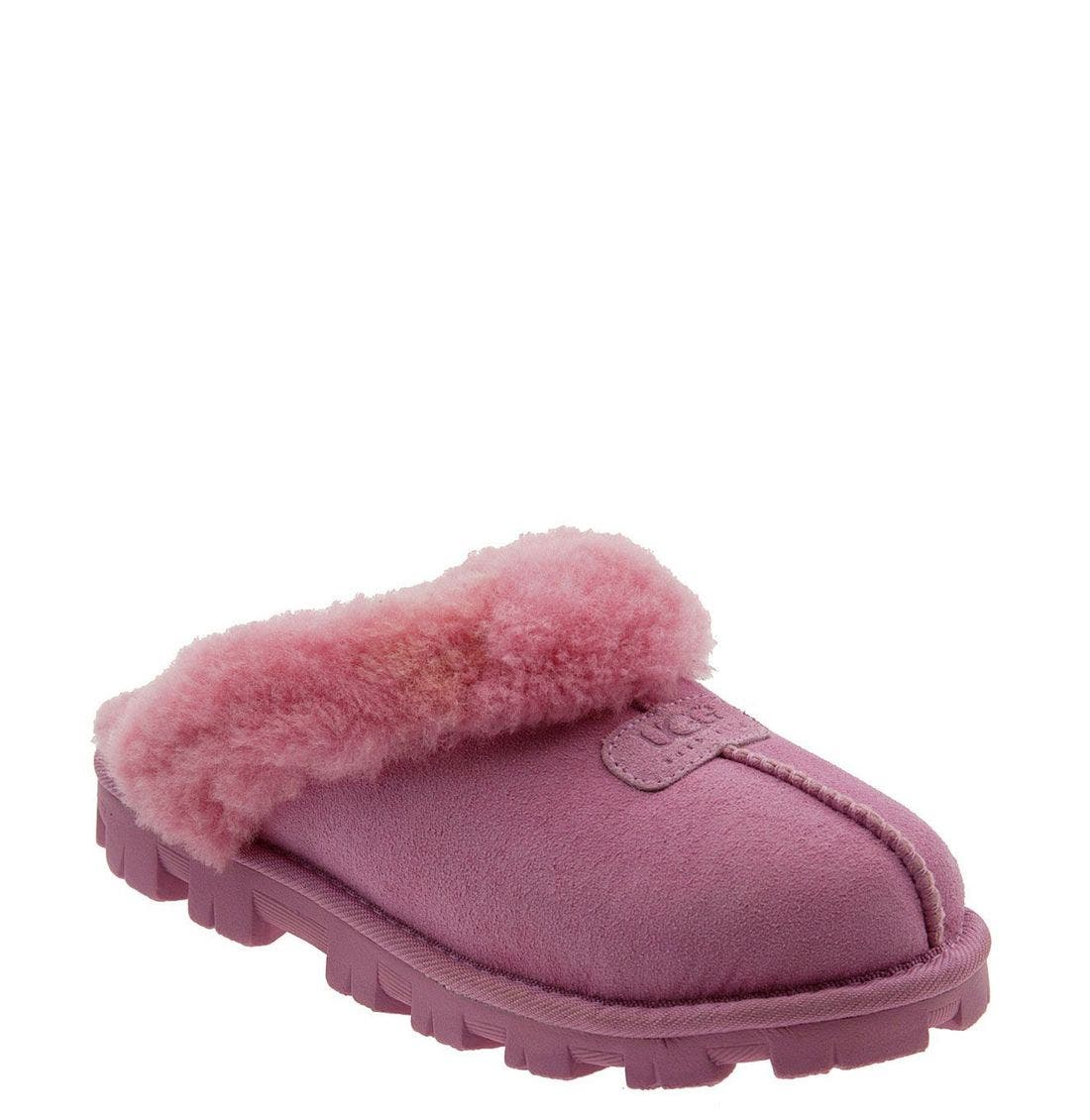 ,                             Genuine Shearling Slipper,                             Main thumbnail 182, color,                             ORC