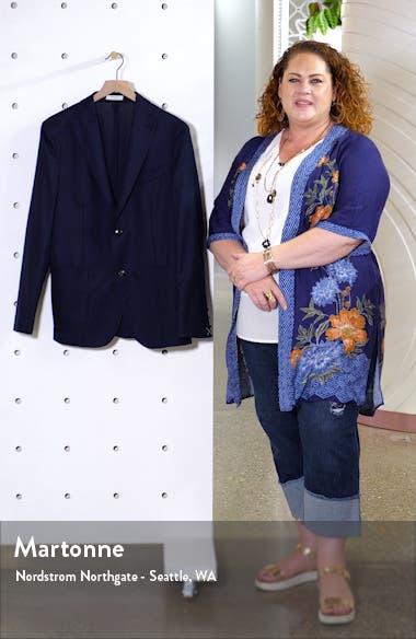 Hopsack Slim Fit Wool Sport Coat, sales video thumbnail