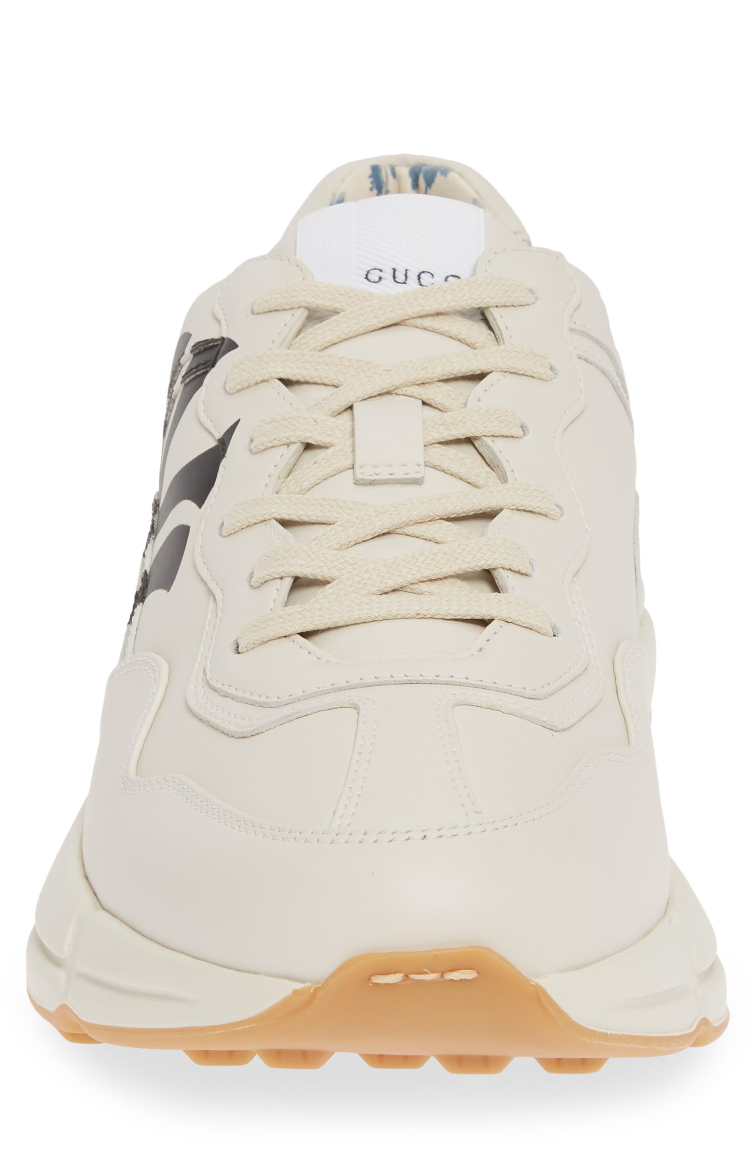 ,                             Rhyton Sneaker,                             Alternate thumbnail 4, color,                             MYSTIC WHITE/ WHITE