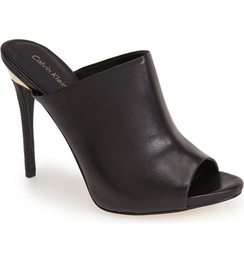 d94d4bfbc4d 'Gradyn' Peep Toe Mule Sandal