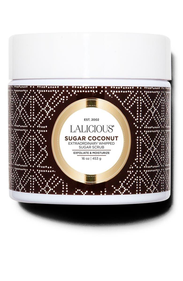 LALICIOUS Extraordinary Whipped Sugar Scrub, Main, color, SUGAR COCONUT