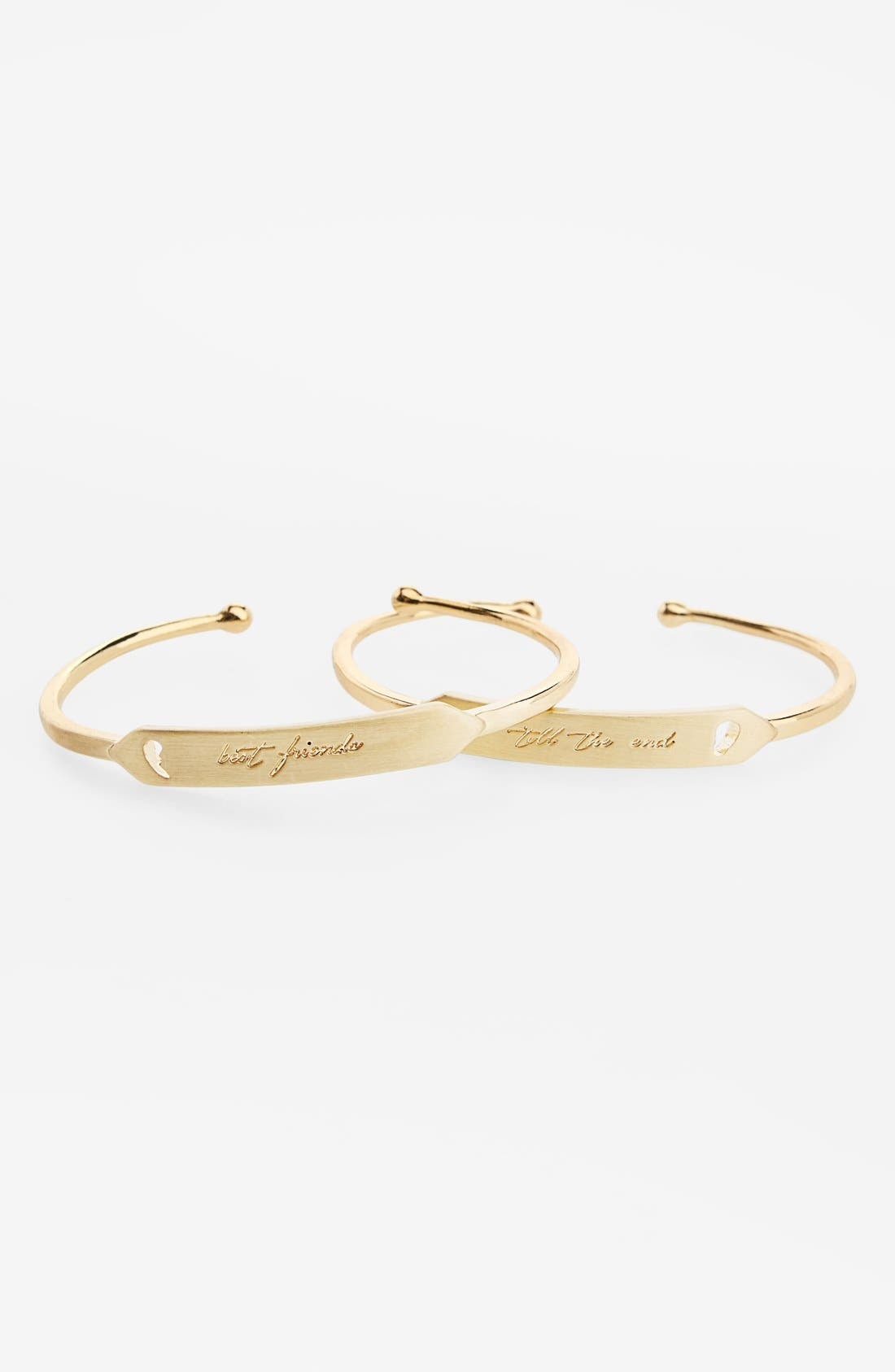 'Best Friend' Cuffs, Main, color, 712
