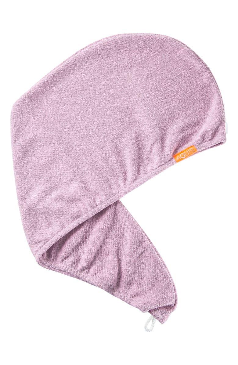 AQUIS Rapid Dry Lisse Hair Wrap Towel, Main, color, DESERT ROSE