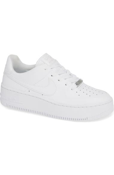 air force 1 sage low blanche