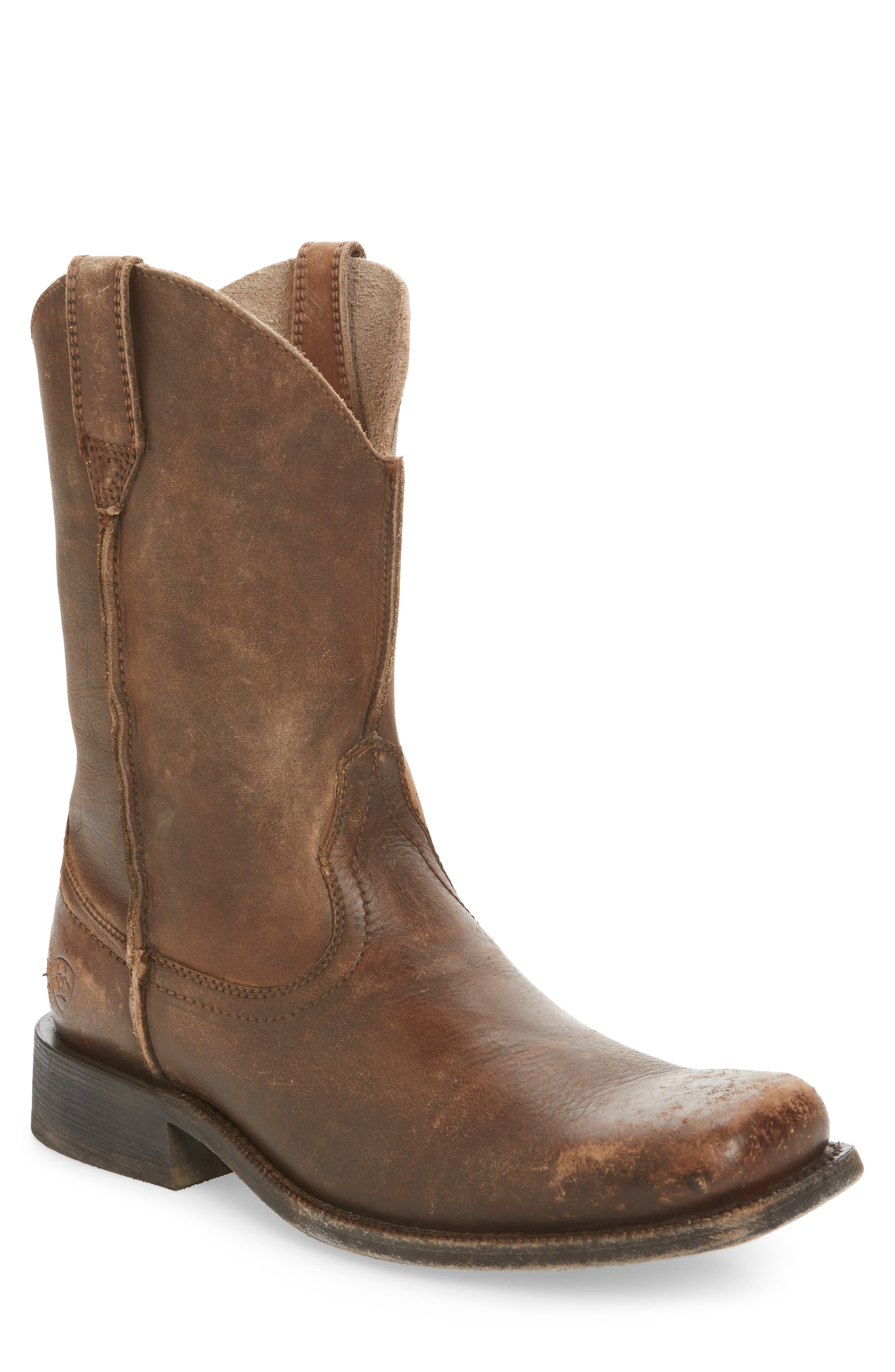 Ariat Rambler Western Boot- Brown
