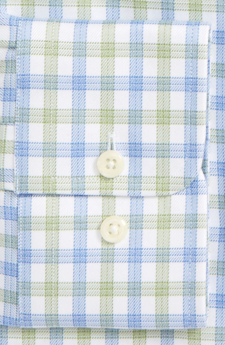 DAVID DONAHUE Trim Fit Check Dress Shirt, Main, color, 300