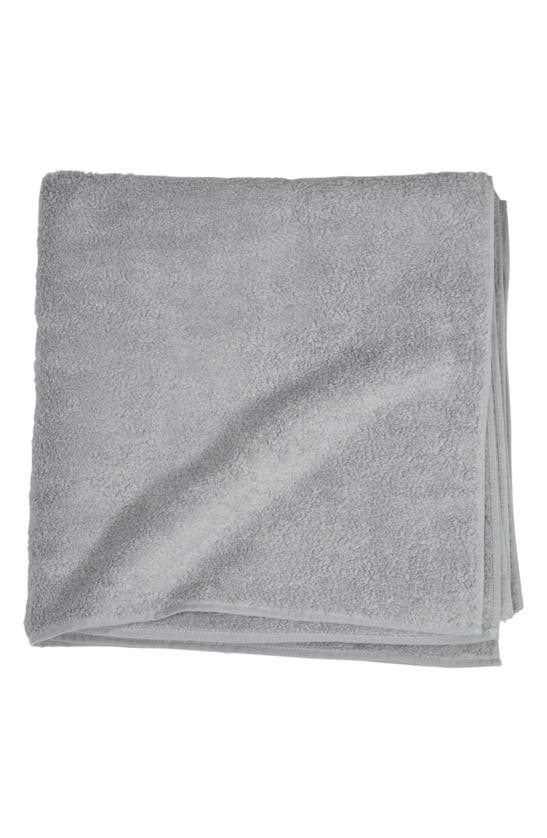 Uchino Zero Twist Bath Towel In Gray