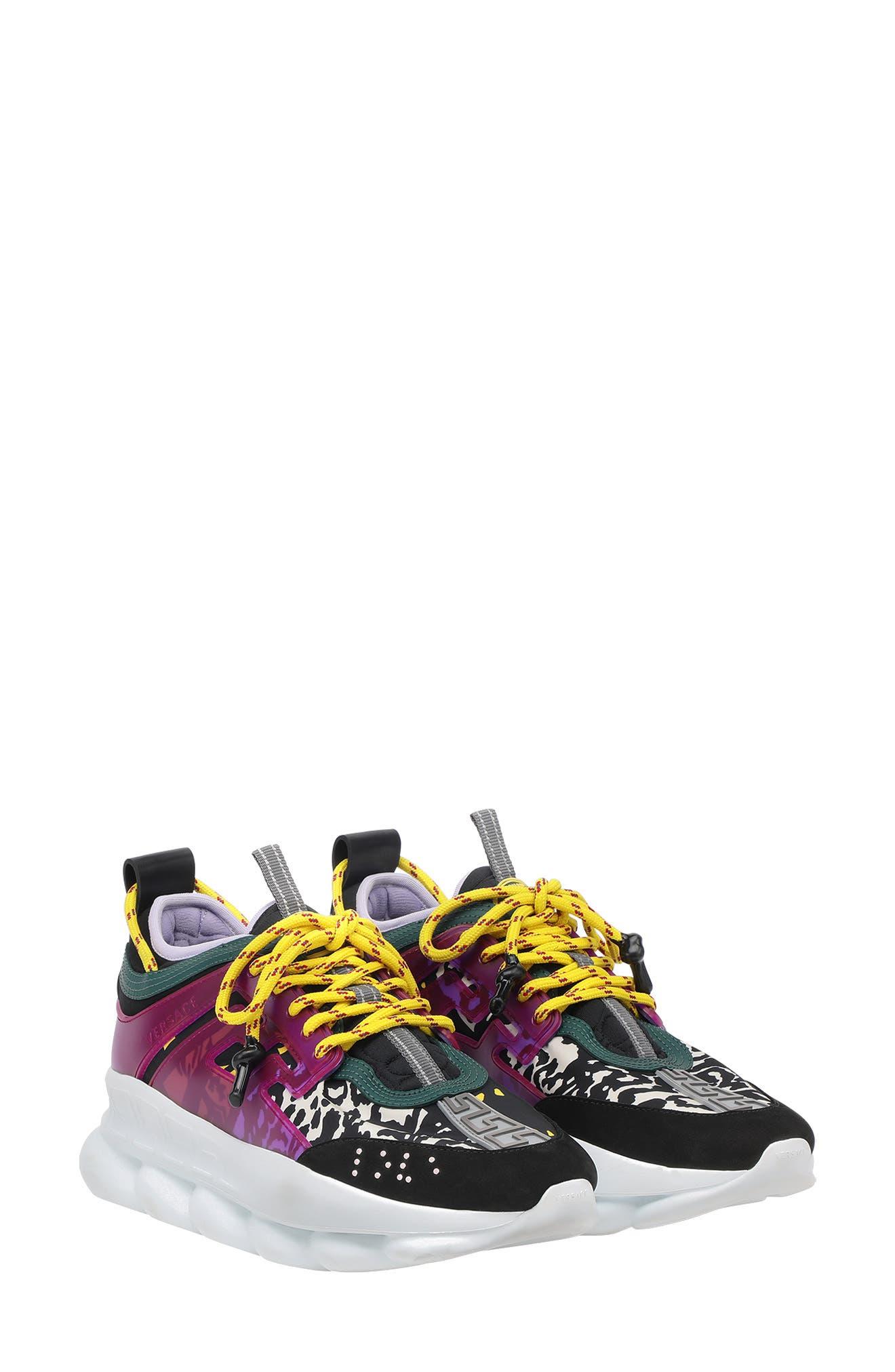 Versace Chain Reaction Sneaker (Women