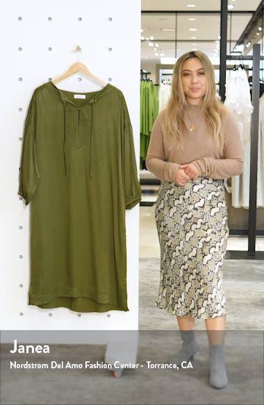 Sim Satin Midi Dress, sales video thumbnail