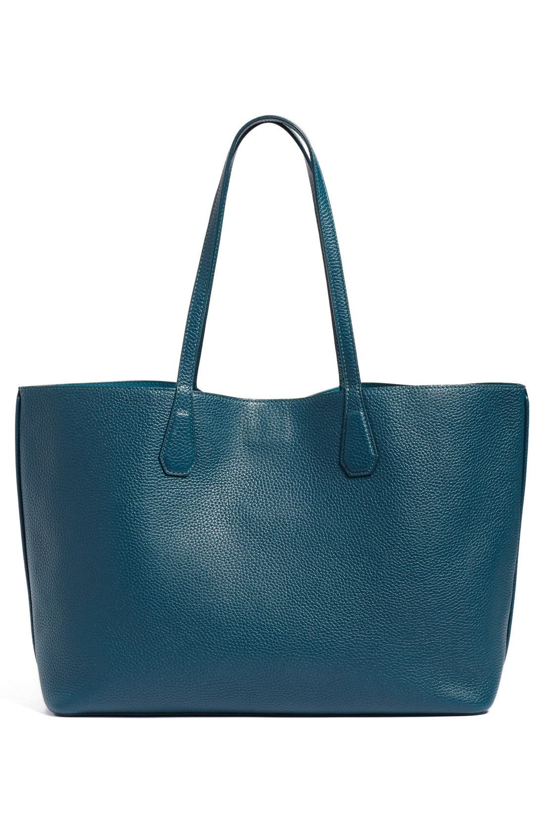 ,                             'Perry' Leather Tote,                             Alternate thumbnail 12, color,                             407