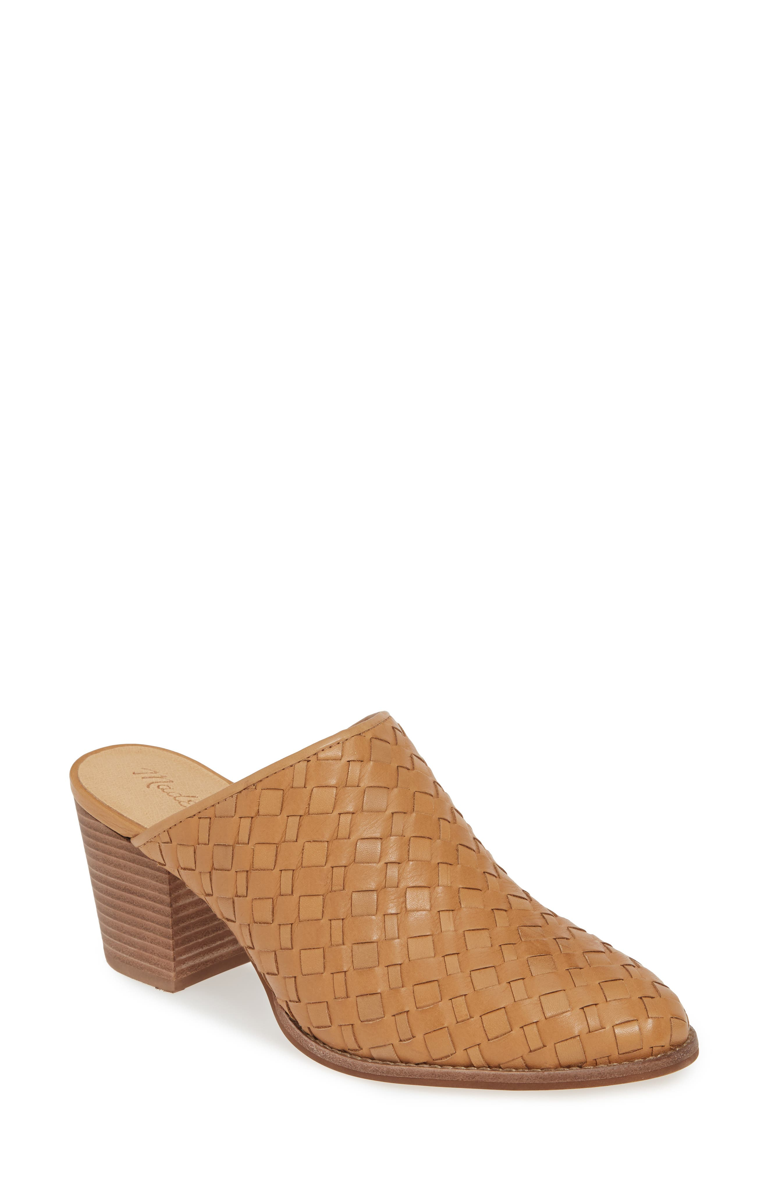 Madewell The Harper Woven Mule
