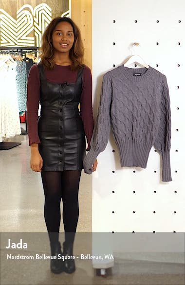 Drea Cable Knit Sweater, sales video thumbnail