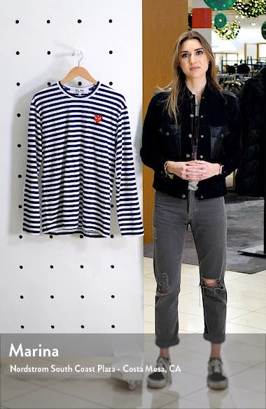 Slim Fit Stripe T-Shirt, sales video thumbnail