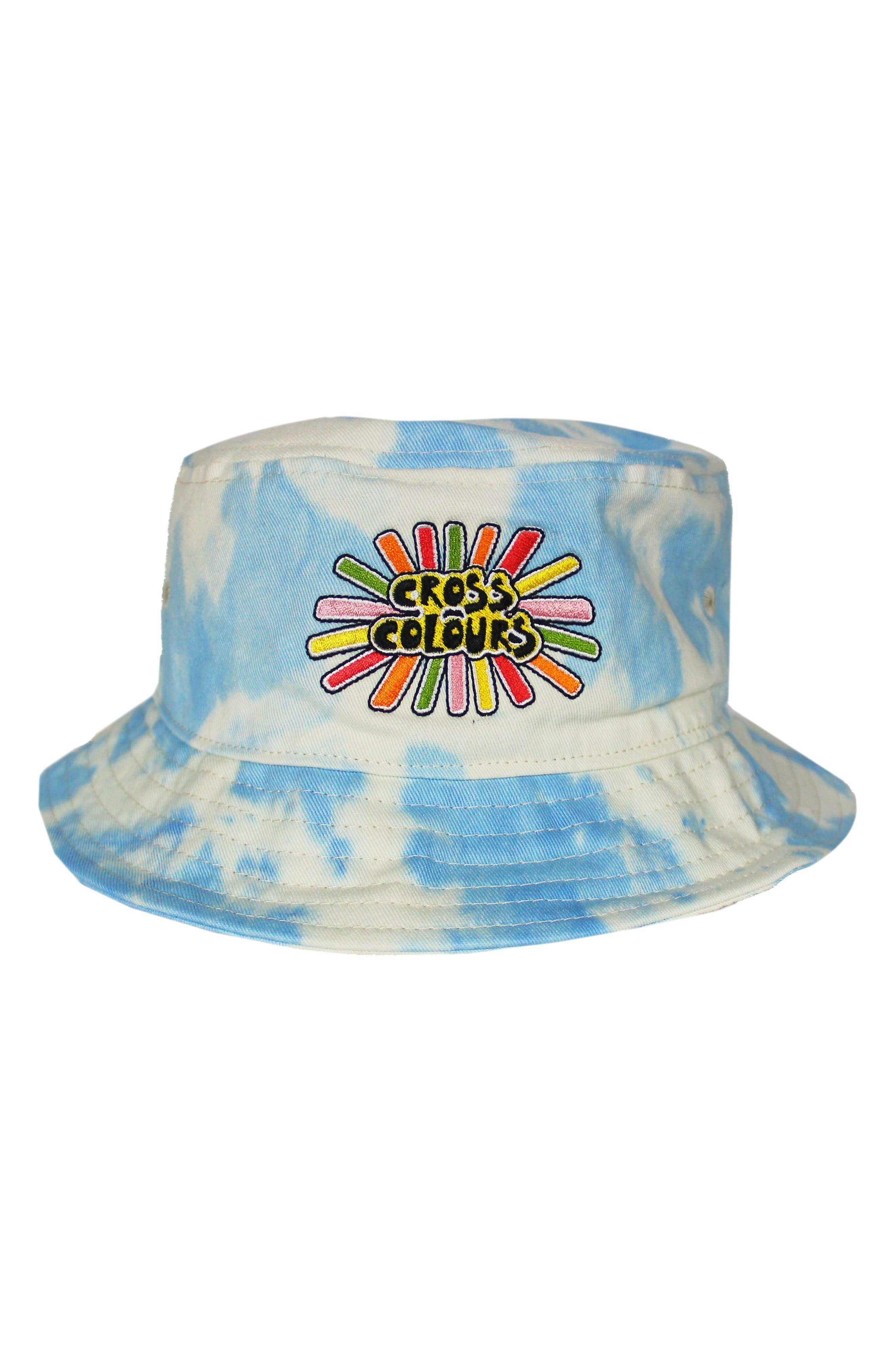 Sunshine Logo Women's Tie Dye Bucket Hat