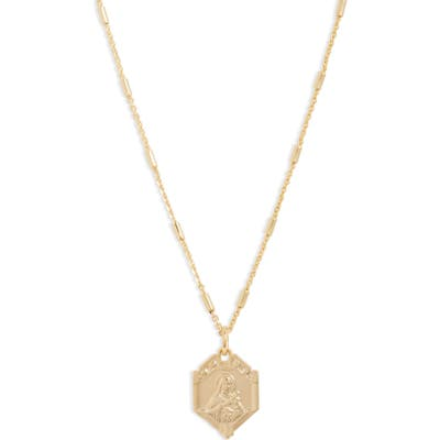 Lux Divine Saint Catherine Pendant Necklace