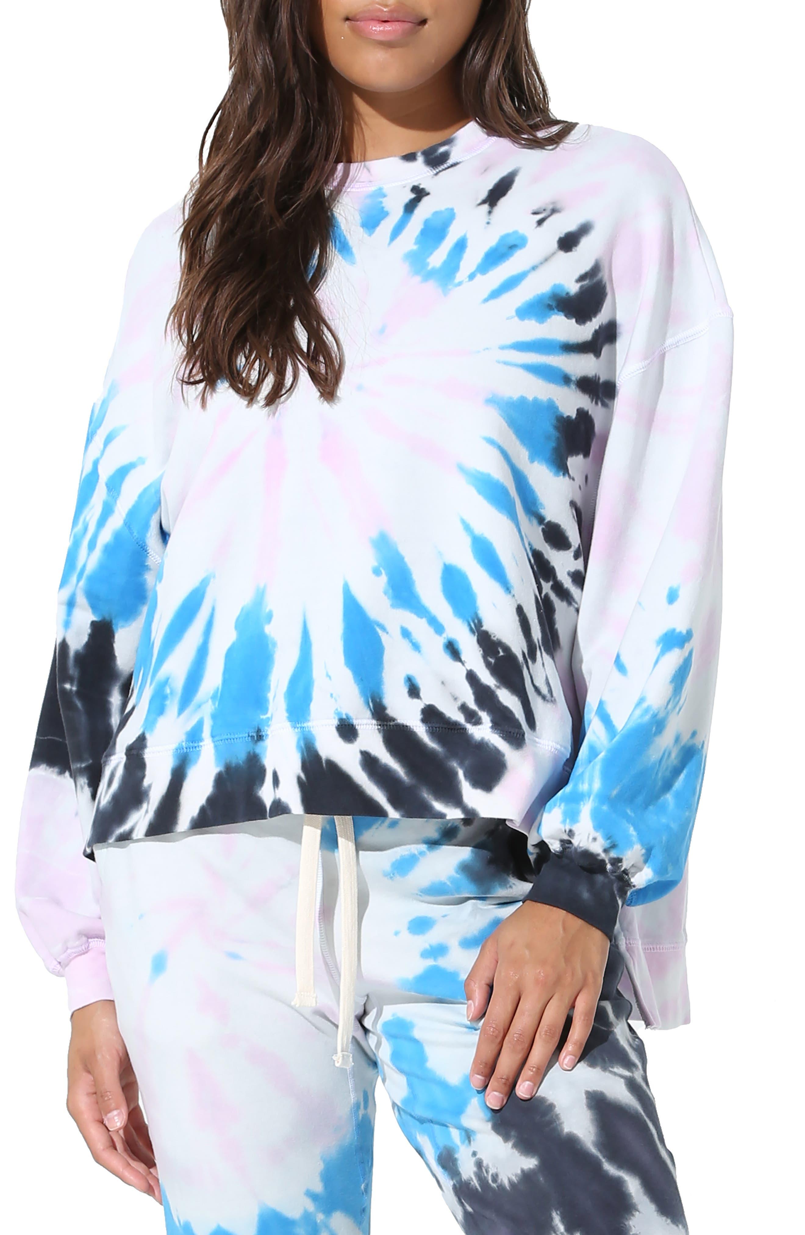 Neil Wave Tie Dye Sweatshirt
