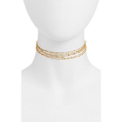 Karen London Morning Mist Multistrand Choker