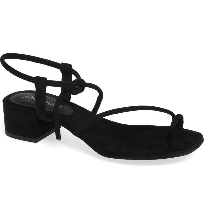 JEFFREY CAMPBELL Zella Strappy Sandal, Main, color, BLACK
