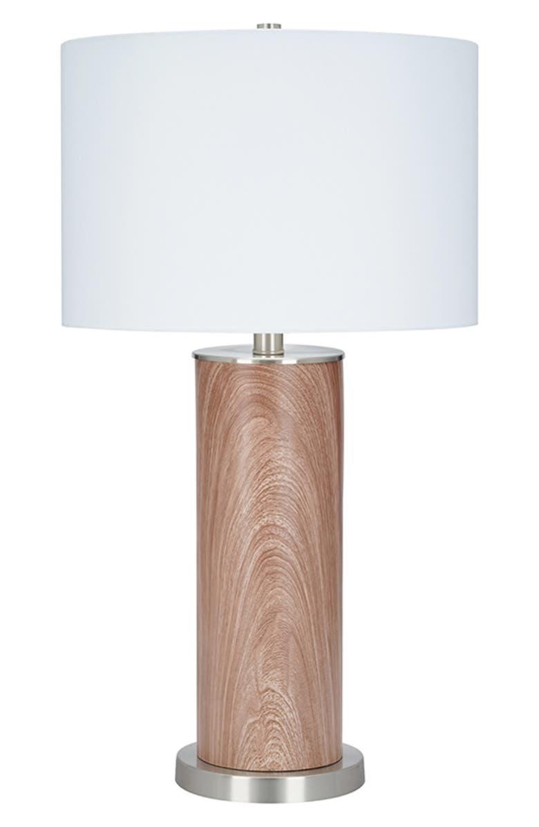 JALEXANDER LIGHTING Wescott Table Lamp, Main, color, LIGHT WOOD